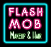 FlashMob Makeup and Hair Logo